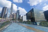中国 香港 星光花園への遊歩道