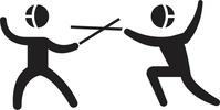 スポーツイラスト フェンシング