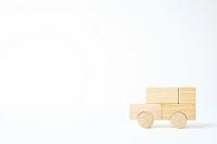積み木で作った車