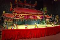 ベトナム ホーチミン 水上人形劇