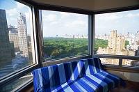 ニューヨーク ミッドタウンの高層マンションよりセントラルパーク