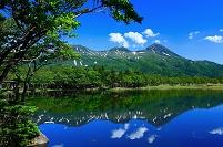 北海道 斜里町・知床五湖(一湖)と知床連山