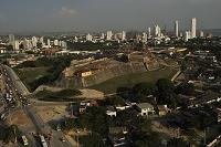 コロンビア カルタヘナ 旧市街のサン・フェリペ・デ・バラハス...