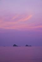 香川県 朝の通念島と播磨灘