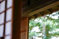 軒下の風鈴