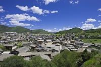 中国 雲南省 迪慶チベット族自治州 旧市街