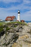 アメリカ メイン州 ポートランド・ヘッドライト灯台