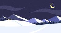四季のベクター素材 冬