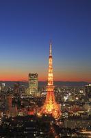 東京都 東京タワーの夜景