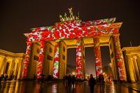 ドイツ ベルリン ブランデンブルグ門 光の祭典
