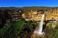 南アフリカ共和国 ナマクワランドの大滝