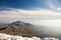 宮崎県 韓国岳山頂から