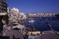 地中海 マルタ 漁港