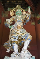 栃木県 二天門の持国天