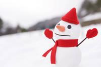 クラフト 雪だるま