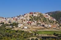 モロッコ ムーレイ・イドリスの街並み