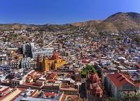 メキシコ グアナフアト 町並み/俯瞰(ピピラの丘から撮影)