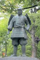 東京都 源義家の像