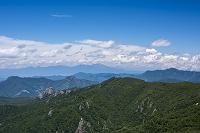 山梨県 瑞牆山から浅間山