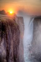 ザンビア共和国 ヴィクトリアの滝