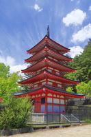 山梨県 新倉山浅間公園の忠霊塔