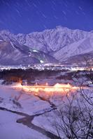 長野県 夜の五竜岳