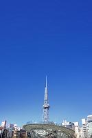愛知県 オアシス21とテレビ塔街並み