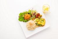油麩 ゴーヤチャンプル キヌアご飯 ワンプレート料理