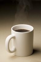 熱いコーヒー