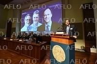 ノーベル医学生理学賞を発表