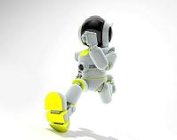 走るロボット