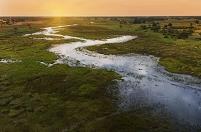 ボツワナ チョベ国立公園 オカバンゴ湿地帯