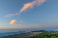 群馬県 朝の渋峠から白根山