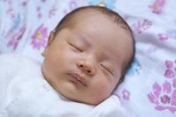 生後30日の日本人の赤ちゃん