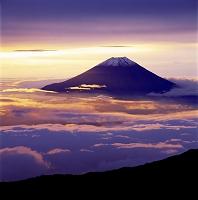静岡県 富士山 南アルプス千枚岳から