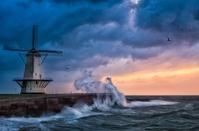 オランダ  海