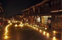 長野県 奈良井宿アイスキャンドル祭り
