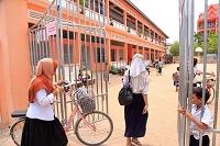 カンボジア シェムリアップの小学校