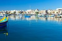 マルタ 地中海に浮かぶルッツ