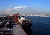 コンテナ船とコンテナターミナル