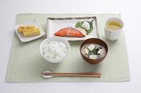 朝食イメージ 焼き鮭