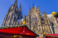 ドイツ ケルン クリスマスマーケットとケルン大聖堂