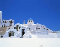 ギリシャ サントリーニ島イアの教会