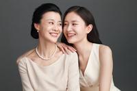 美しい母親と娘