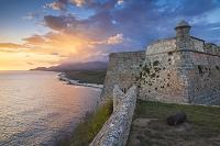 キューバ サン・ペドロ・デ・ラ・ロカ城(モロ要塞)