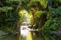 千葉県 清水渓流公園 濃溝の滝