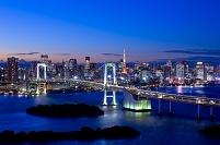 東京都 お台場レインボーブリッジ