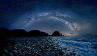 フィリピン バタン島のビーチと満天の星