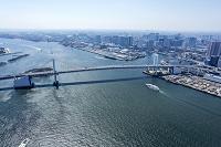 東京都 お台場とレインボーブリッジ