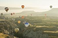 トルコ カッパドキアの気球